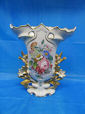 Antique Old Paris Hand Painted Vase Made in Portugal
