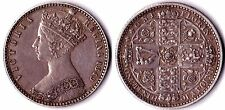 "FLORIN 1849 Queen Victoria ""Godless"" - high grade !!!!! ."