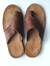 Timberland Boot Company Wodehouse Lost History Brown Leather sandals Mens 11