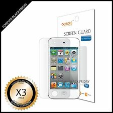 iPod Touch 4 Screen Protector 3x Anti-Glare Matte Front Cover Guard Shield