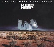 The Ultimate Collection by Uriah Heep (CD, Apr-2010, 2 Discs, Sanctuary)