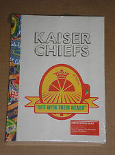 KAISER CHIEFS - OFF WITH THEIR HEADS - LTD. EDITION 2 CD SET SIGILLATO (SEALED)