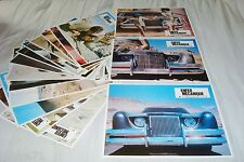 ENFER MECANIQUE ! jeu 16 photos cinema lobby cards epouvante cars 1977