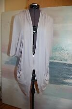 Costa Blanca Gray Rayon/Spandex Shirt Size S/M