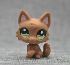 Pink ear Timber #2440 Wolf DOG Pubby LITTLEST PET SHOP LPS Loose Action Figure