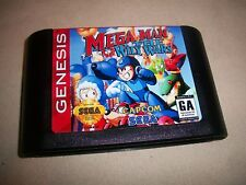 Mega Man Megaman: The Wily Wars 1 2 3 Willy Tower Sega Genesis NTSC New battery