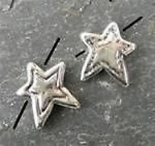 14mm STERLING SILVER ** STAR ** bead