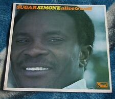 SUGAR SIMONE ALIWE & WELL 1970 UK LP UPFRONT RECORDS SUPF 1