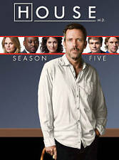 House: Season Five (DVD, 2015, 5-Disc Set) FAST SHIPPING - SAME DAY