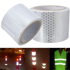 Car White Reflective Safety Warning Conspicuity Tape Film Sticker 5CM*3M