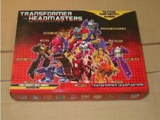 Transformers Headmasters G1 KO Gift Pack 10 New Pieces 1987 robot head figure