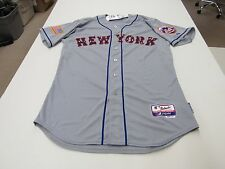 Authentic New York Mets July 4th Stars & Stripes Cool Base Jersey 44   9366