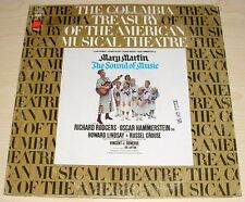 THE SOUND OF MUSIC MARY MARTIN ALBUM 1973 COLUMBIA RECORDS S 32601 BROADWAY CAST