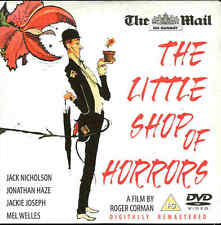 THE LITTLE SHOP OF HORRORS - Starring Jack Nicholson - DVD