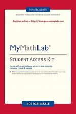 Mymathlab / Mystatlab Student Access Kit Kit by Pearson Education Staff (2006, D