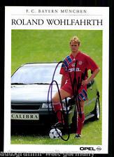 Roland Wohlfarth Bayern München 1991-92 Fehldruck Orig. Signiert +C 53