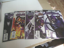 Marvel Hawkeye Dark Reign #1-5 complete set average VF+