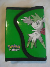 Pokemon Platinum DS Case, Nintendo, Green, Gaming, Flip Case, 3 games, 3 Stylus