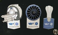 SOCHI Russia 2014 Olympic GE ( General Electric )  XL sponsor rare 3 pin set