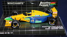 1/43 BENETTON FORD B191 B #19 MICHAEL SCHUMACHER 1992 BY MINICHAMPS MINT