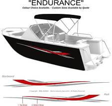 "BOAT GRAPHICS DECAL STICKER KIT ""ENDURANCE -1800"" MARINE CAST VINYL"