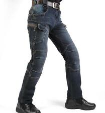 Hunting Tactical Jeans Combat Cargo Denim Pants Training Trousers Multi Pockets