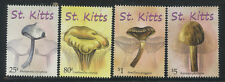 St Kitts 2010 Mushrooms set Sc# 758-61 NH