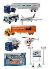 LOT AEROPORT AUTO AVION CAMION ENFANT MINIATURE JEU 21