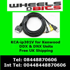 Kca-ip301v Ipod Iphone Adaptador interfacefor Kenwood kvt-524dvd, kvt-526dvd.
