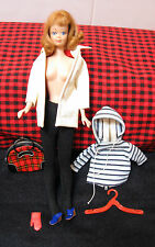 VINTAGE Barbie **WINTER HOLIDAY**#975 (6 Pc. Set.)Almost Complete.New Navy Clogs