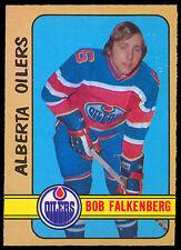 1972 73 OPC O PEE CHEE HOCKEY WHA 310 BOB FALKENBERG ENM ALBERTA EDMONTON OILERS