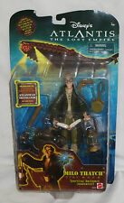 Disney Atlantis The Lost Empire: Milo Thatch Action Figure. New on card 2000