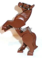 Lego Lord of the Rings Minifigure Animal, BROWN HORSE, rear legs pivot, New
