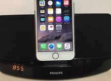 Philips AD305/37S Charging Speaker Dock iPhone 5 6 7 & IPOD Lightning Connector