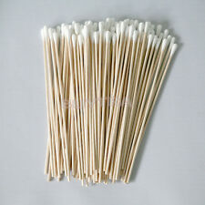 "First-rate Much Cotton Swabs Swab Applicator Q-tip 100 Pcs 6"" Wood Handle  new"