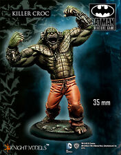 KNIGHT MODELS DC KILLER CROC 35mm METAL NEW