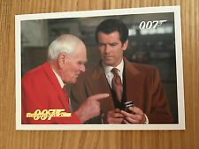 James Bond Archives 2014 Gold Foil Parallel Card 018 047/125 Tomorrow Never Dies