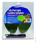 NEW NurseryPro Lily Pad Floating Light for Pond Water Feature 99487