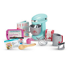 "American Girl LE GRACES BAKING SET for 18"" Dolls Recipe Mixer Chef  NEW"
