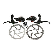 AVID BB7 Front & Rear Caliper 160mm HS1 Rotor Speed Dial 7 SD7 Lever New