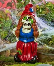Wickedly Funny Zelda The Zombie Garden Gnome Halloween Statue