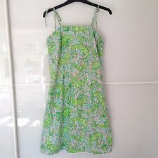 Lilly Pulitzer White Label Gator Print Dress - US 6 / UK 10