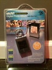 SHIFT3 Digital Photo Album with Keychain holds 60 images Rechargeable (New)