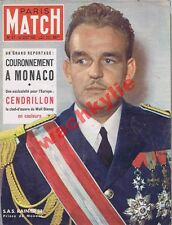 Paris Match n°57-  22/04/1950 couronnement Monaco Rainier Walt Disney Cendrillon