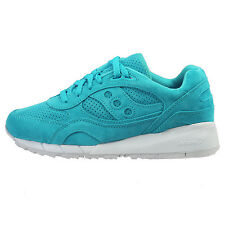 Saucony Shadow 6000 Mens S70222-5 Emerald Suede Athletic Running Shoes Size 9