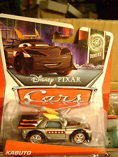DISNEY PIXAR CARS KABUTO 2/10 *NEW*