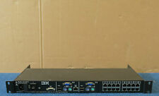 IBM 41Y9318 41Y9315 - IP 16 Port KVM Console 1U Rackmount Switch