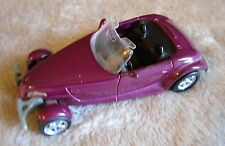 Maisto Plymouth Prowler - Purple 1:38 Scale Die Cast Car - Good Condition!