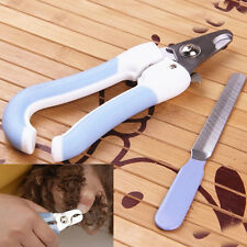 Pet Nail Clippers Set Claw Cutters Dog Cat Grooming Trimmer Cutter Tools RO