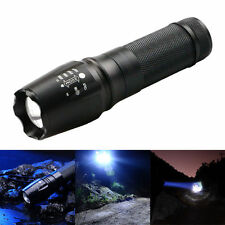 5000 lm zoom xm-l T6 led réglable focus lampe de poche lampe torche light